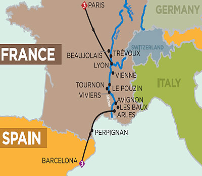 Provence and Spain Cruise