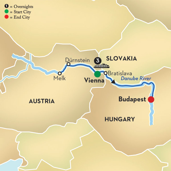 Danube River Cruise Map Danube River Cruise Map Images