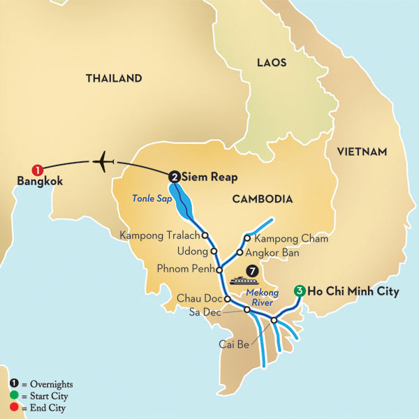 The Mekong River Cambodia Loves Nature - Rivers of vietnam map