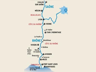 Rhone And Saone River Cruise 7 Days Martigues To Chalon