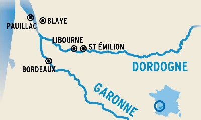 The Gironde And Dordogne Rivers 5 Days Bordeaux To Bordeaux