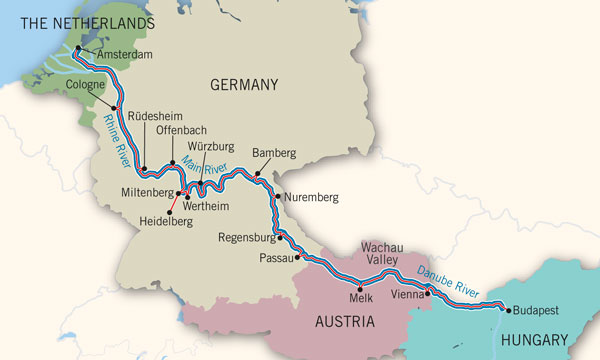 European Christmas Market River Cruises