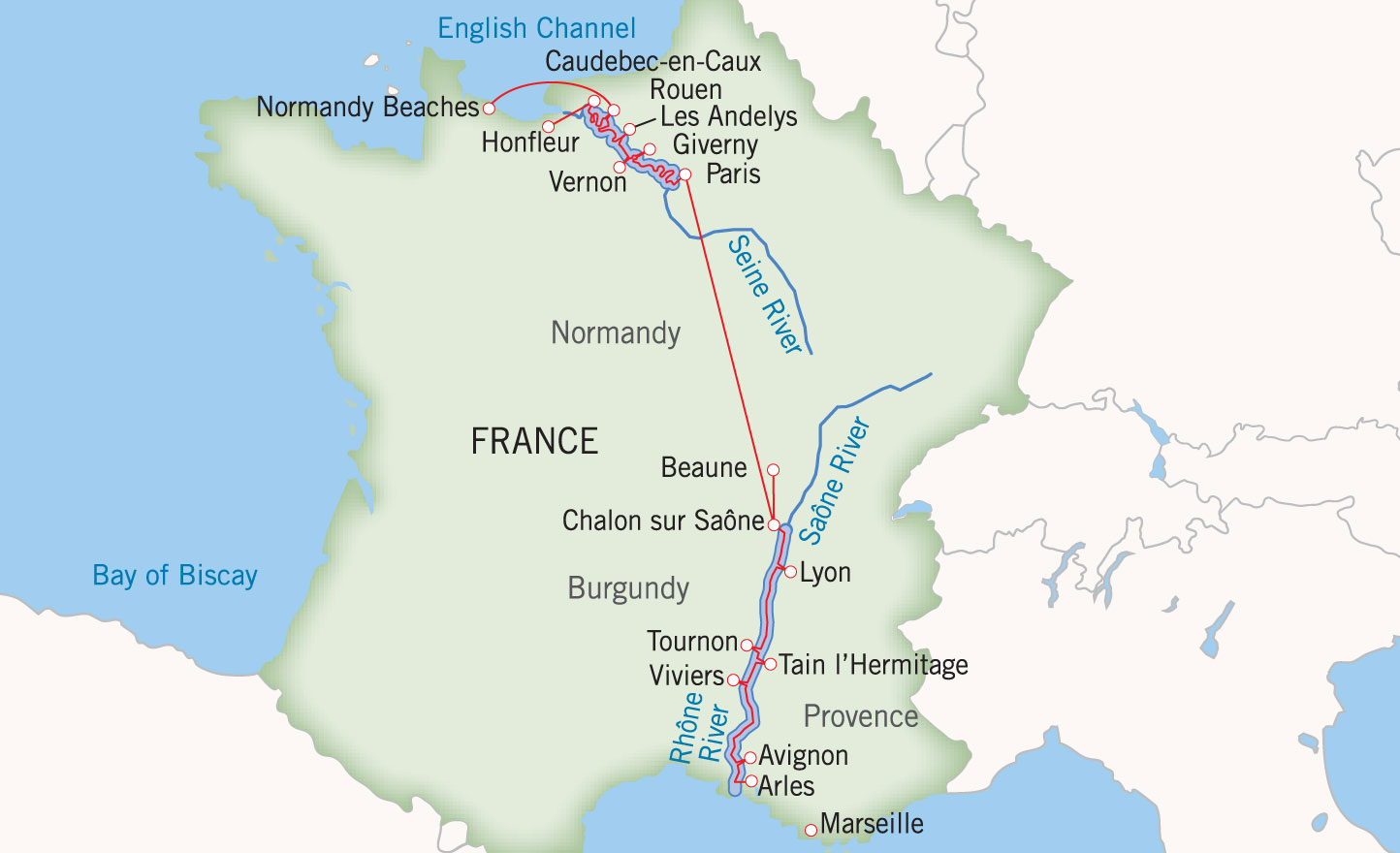 Grand France Paris To Avignon