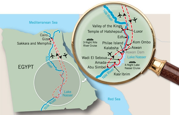 Jewels of the Nile Map...