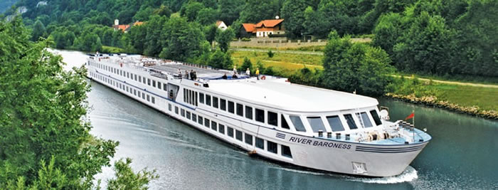 River Baroness sailing the Danube